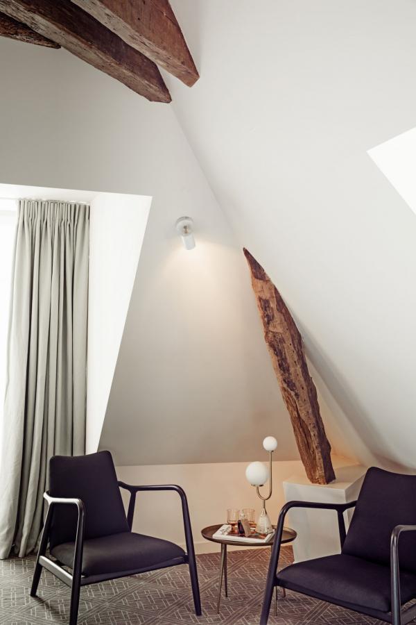 Hôtel des Grands Boulevards - Chambres sous les toits © Karel Balas