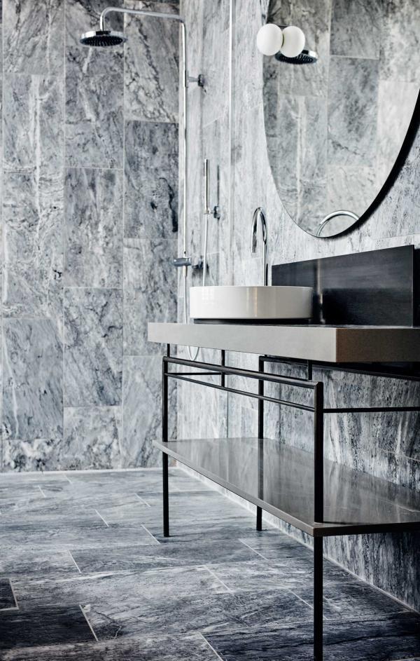 Nobis Hotel Copenhagen - Salle de bain de la Nobis Suite