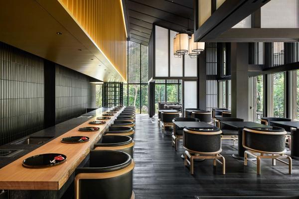 Aman Kyoto - Restaurant Taka-an © Aman