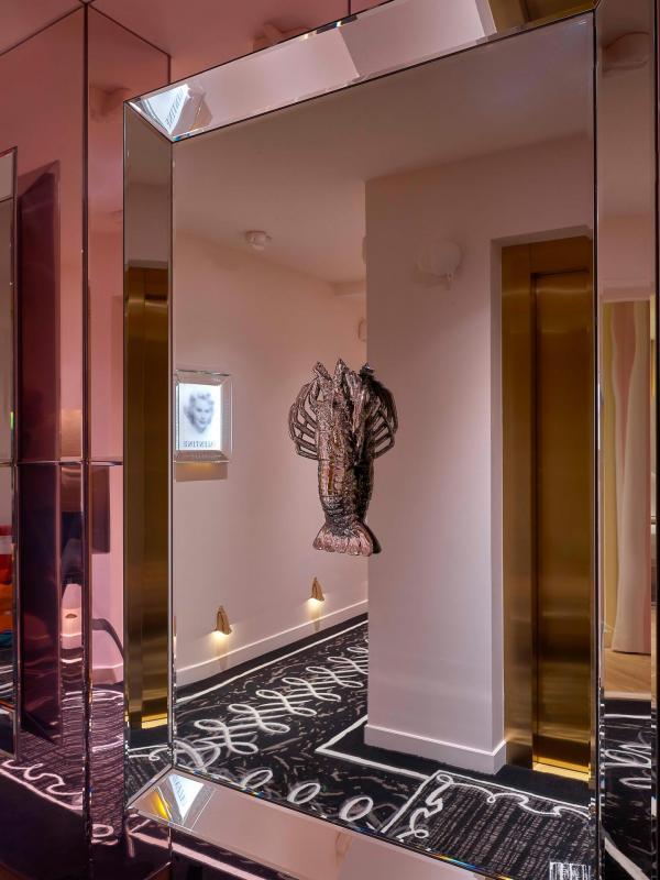 Hôtel 9Confidentiel - Détail de décoration