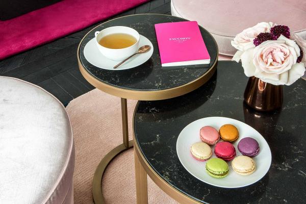 Hôtel Fauchon - Tea time avec macarons