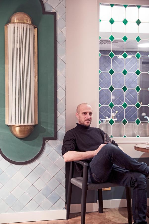 Hôtel des Grands Boulevards - Le chef Giovanni Passerini © Karel Balas