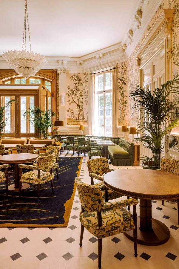 Saint James Paris — Restaurant Bellefeuille © Matthieu Salvaing