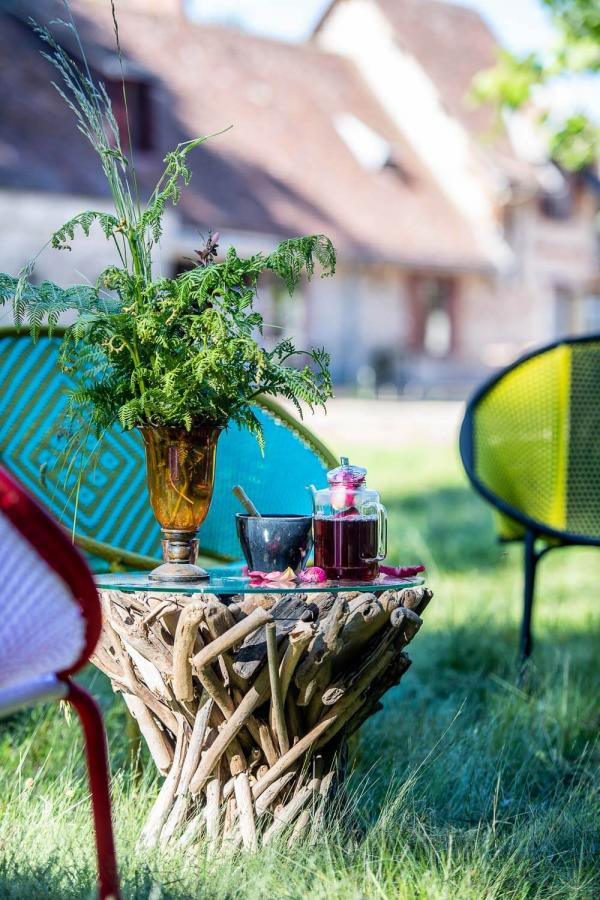 Loire Valley Lodges - salon extérieur © Anne Emmanuelle Thion