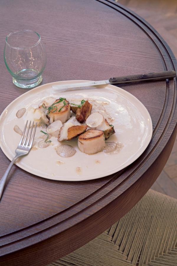 Hôtel des Grands Boulevards - La cuisine de Giovanni Passerini © Karel Balas