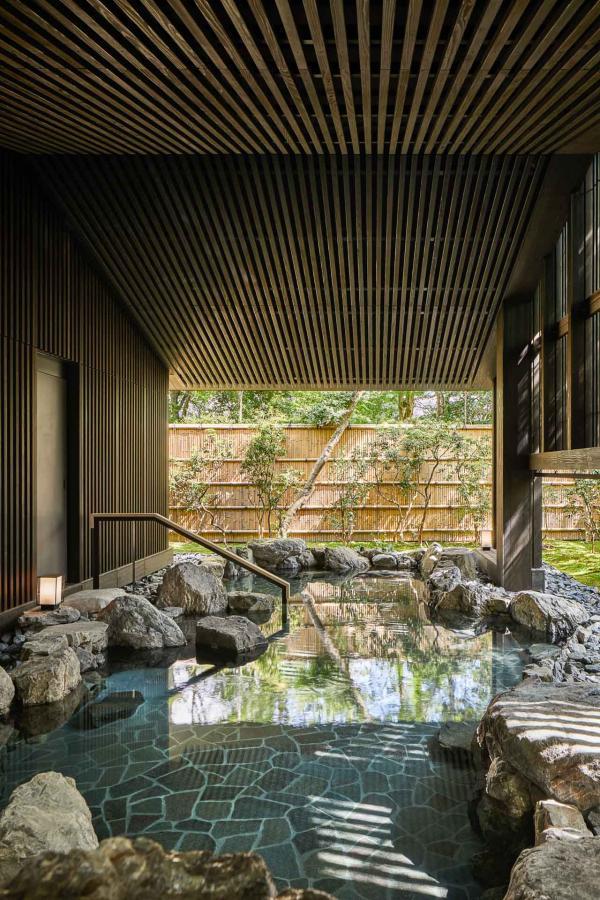 Aman Kyoto - Onsen extérieur © Aman