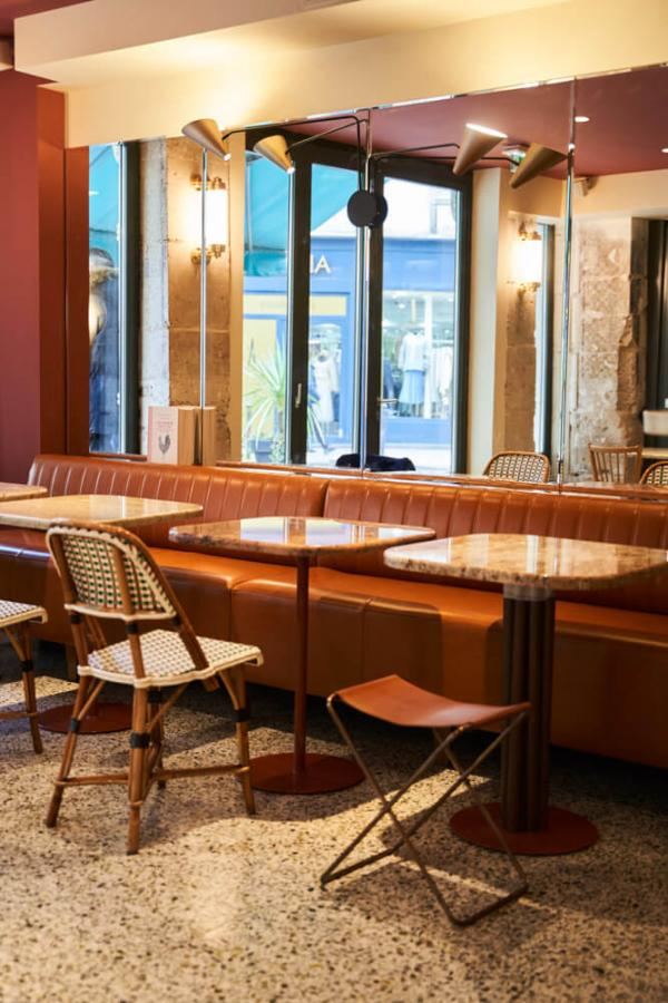 Hôtel du Sentier – Restaurant © Bastien Rossi