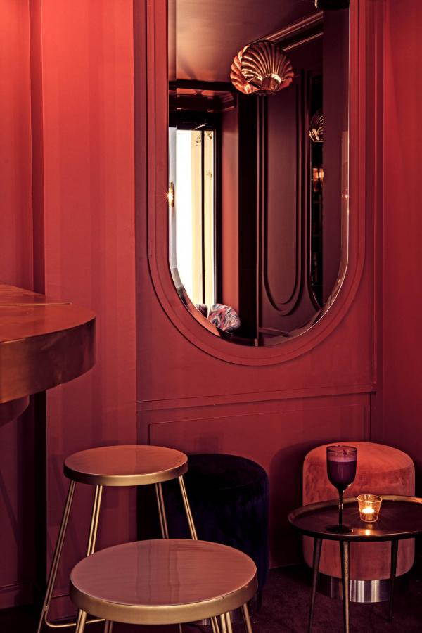 Hôtel des Grands Boulevards - Le bar à cocktails © Karel Balas