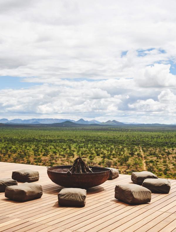Habitas Namibia - Brasero © DR