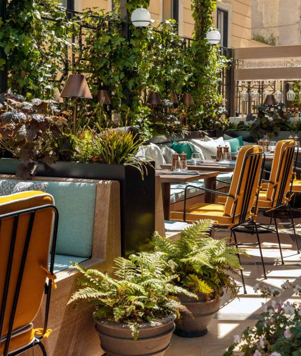 The Hoxton Rome | Terrasse © The Hoxton