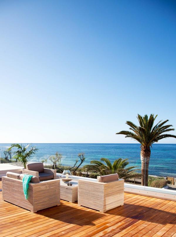 Gecko Hotel & Beach Club - La terrasse privée du Gecko Loft