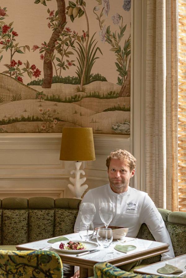 Saint James Paris — Chef Julien Dumas © Patrick Locqueneux