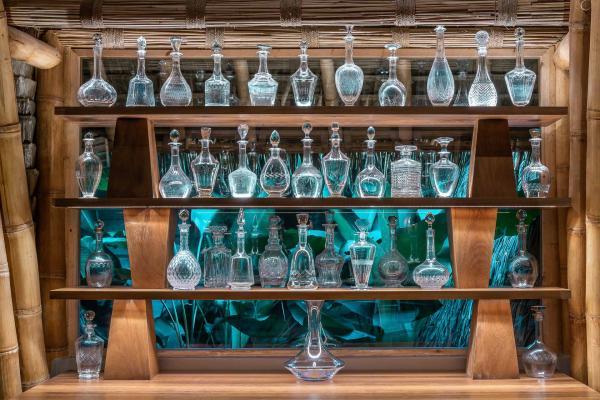 À la carte, des cocktails sophistiqués dont certains sont réalisés à partir d'ingrédients locaux