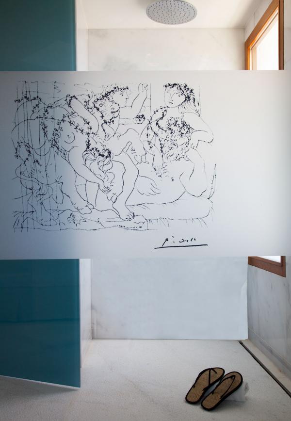 "Gecko Hotel & Beach Club - Salle de bain ""Picasso"""