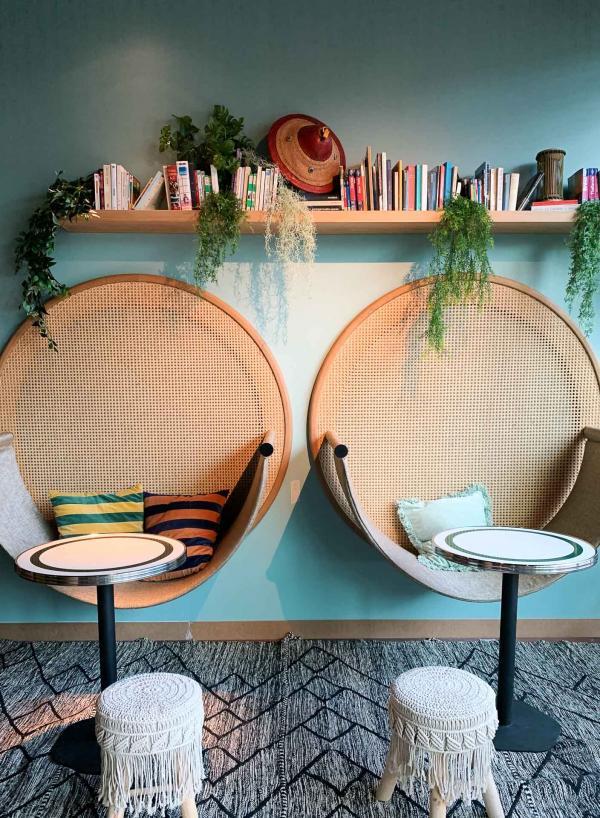 Un nouveau lieu branché qui attirera à coup sûr les professionnels des salons. © YONDER.fr