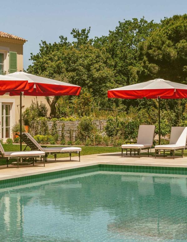 Hôtel Lou Pinet - Saint-Tropez - Piscine © Matthieu Salvaing