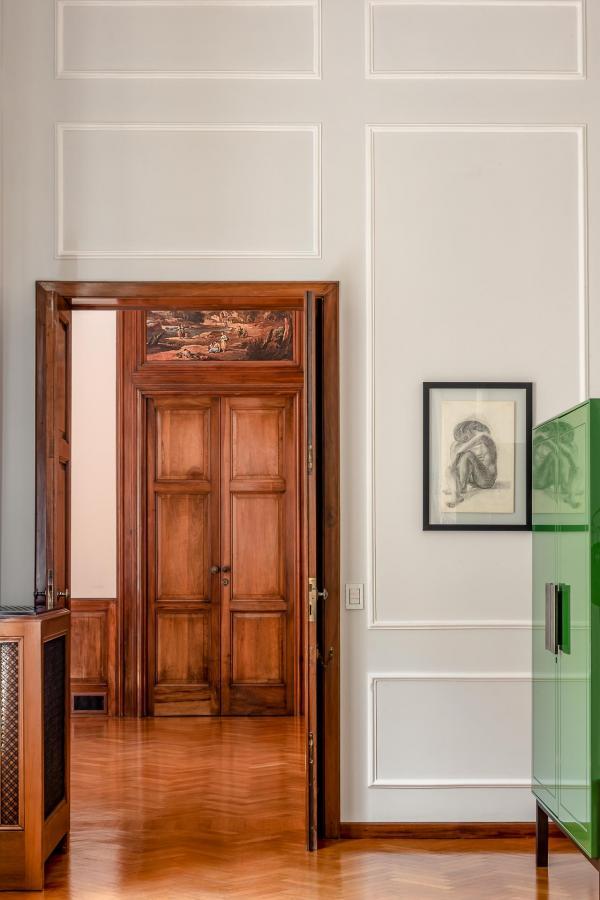 Le Palazzo représente l'union idéale de l'ancien et du contemporain et incarne l'esthétique de La Fiermontina.