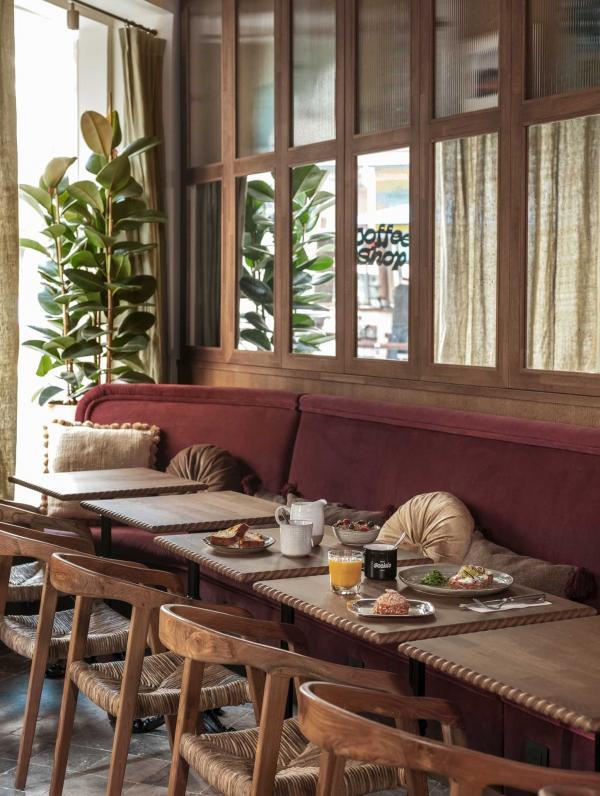 Hôtel Sookie | Coffee shop ©Nicolas Anetson