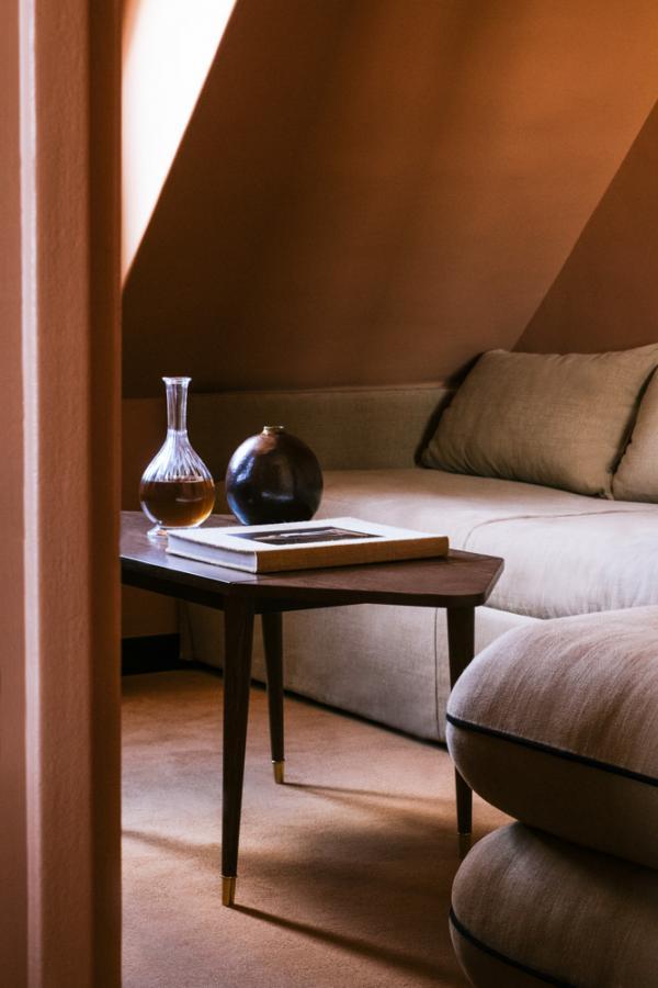 Hôtel Rochechouart Paris – Chambre Terracotta © Ludovic Balay