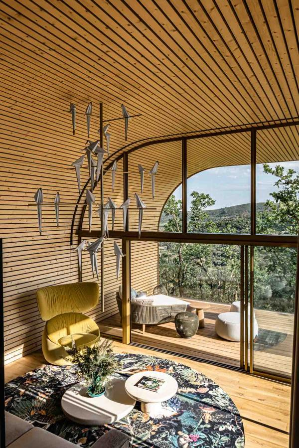 Souki Lodge & Spa — salon © MR. TRIPPER