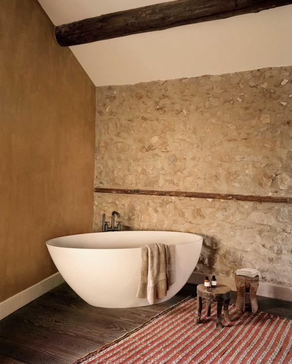 Bastide de Fléchon - salle d'eau © Alexis Armanet