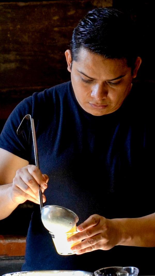Casona Los Cedros — chef © Laura Casanova