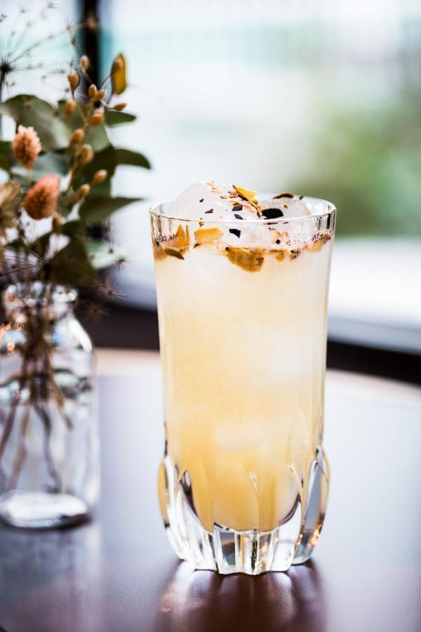 La carte des cocktails imaginée par le Syndicat met en avant des alcools français.La carte des cocktails par le Syndicat met en avant des alcools français © Romain Ricard