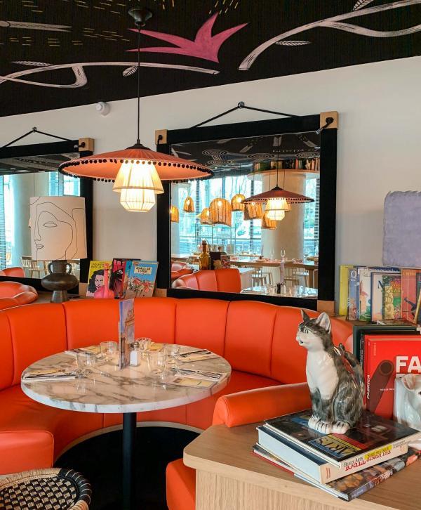 La carte du restaurant a été élaborée en collaboration avec Guy Savoy. © YONDER.fr
