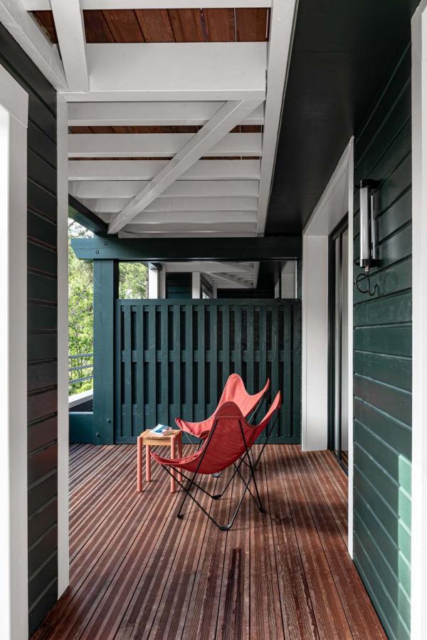 70 hectares... et l'océan | Terrasse d'une chambre © MR. TRIPPER