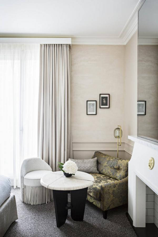 Hôtel Sofitel Le Scribe Paris Opéra – Chambre © Yann Deret