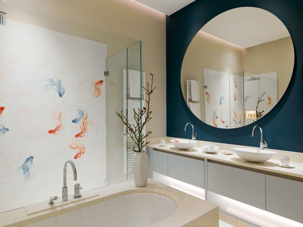 The Langham Nymphenburg Residence Munich – Salle de bain