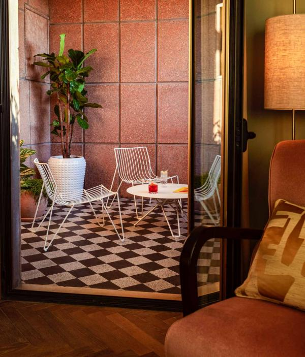 The Hoxton Rome — Chambre Roomy Terrace © The Hoxton