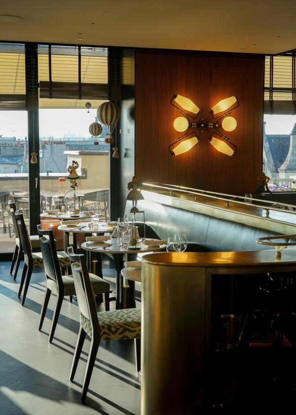 Cheval Blanc Paris   Restaurant Langosteria © Alexandre Tabaste