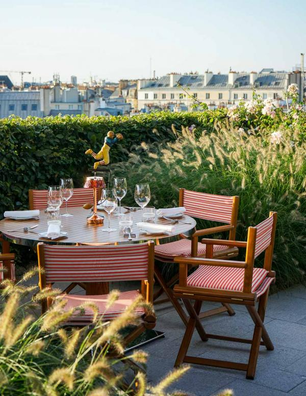Cheval Blanc Paris   La terrasse de Langosteria © MB YONDER.fr