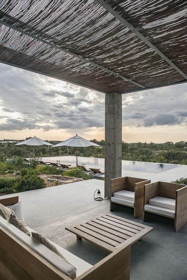 Villa Preciosa Formentera - Terrasse et piscine