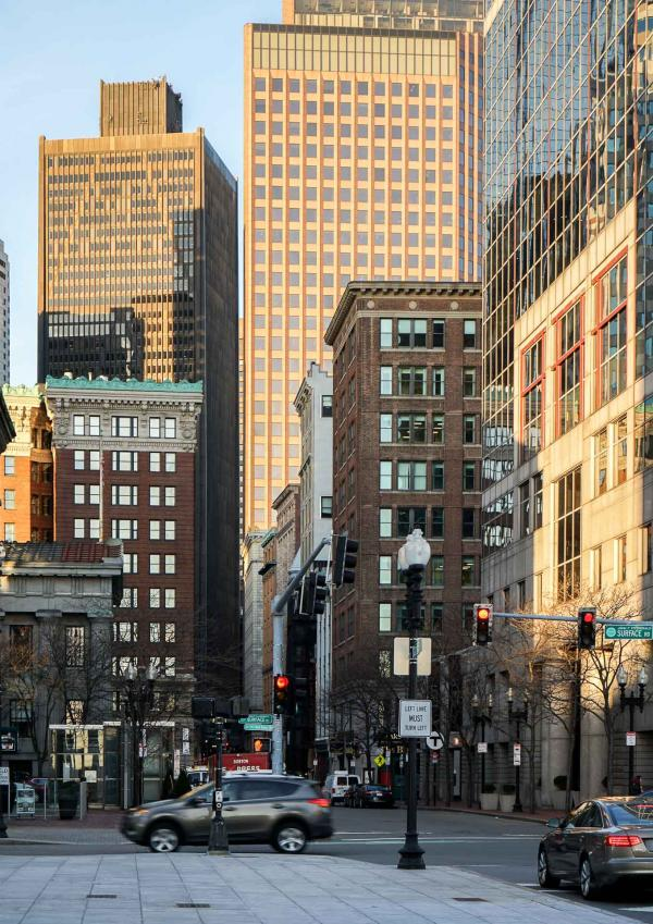 Dans les rues de Boston au petit-matin © YONDER.fr
