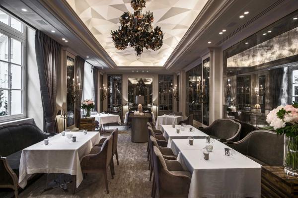L'Écrin est le nouveau restaurant gastronomique du Crillon © Rosewood