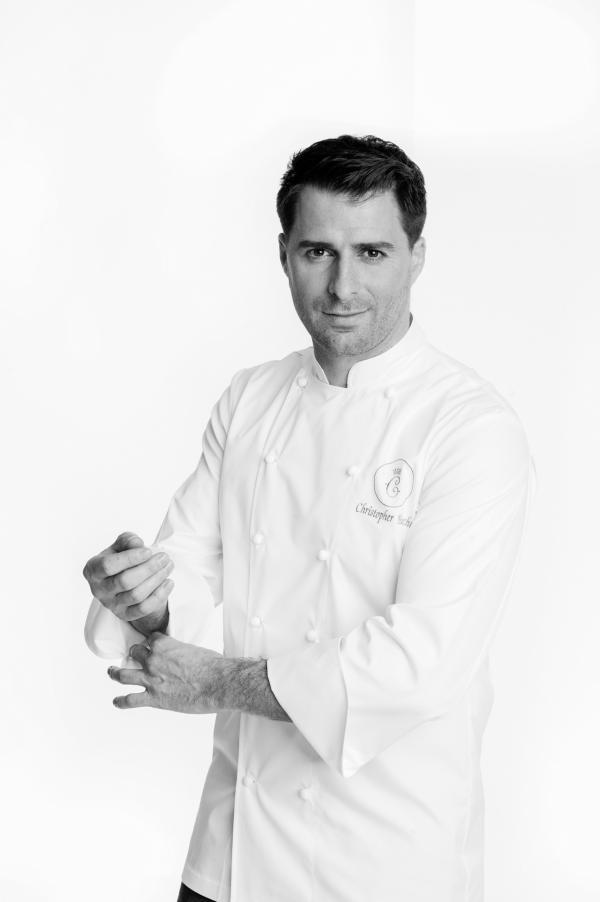 Portrait de Christopher Hache, Chef des cuisines de l'Hôtel de Crillon © Stéphane Kossmann