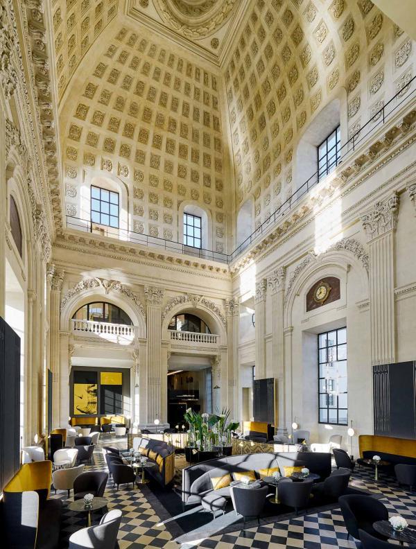 Le Dôme à l'InterContinental Lyon Hôtel-Dieu © Eric Cuvillier