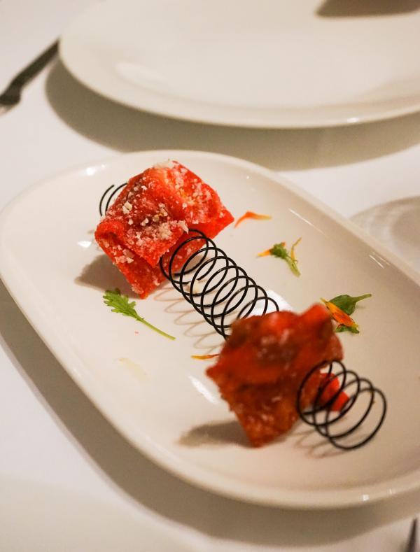 Gyozas de crevettes et moringa © YONDER.fr
