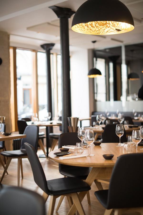 L'intérieur du restaurant © Pierre Lucet Penato