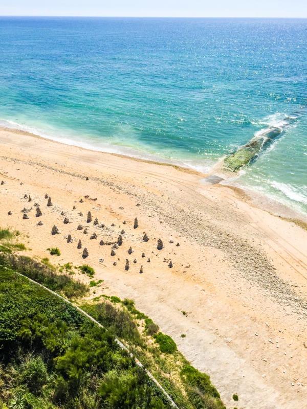 La plage vue de la Vieille Tour © Yonder.fr