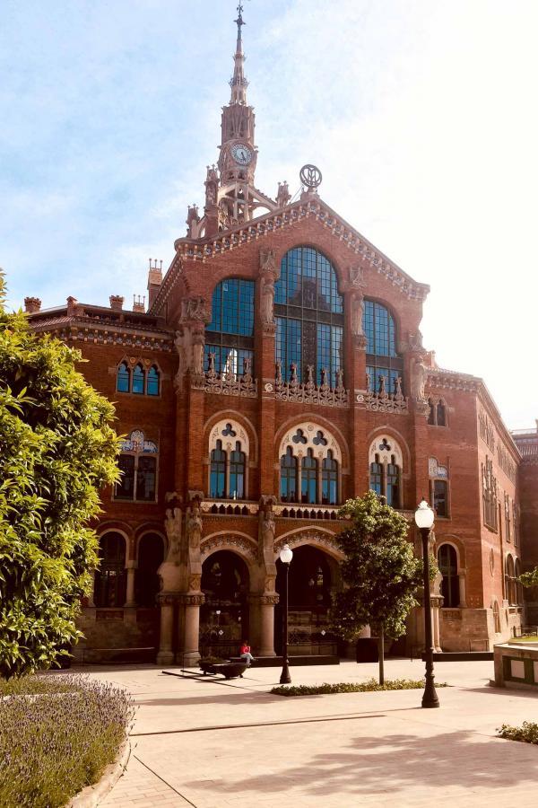 L'hôpital de Sant Pau de Barcelone, inscrit au Patrimoine mondial de l'UNESCO depuis 1997 © Céline Méot