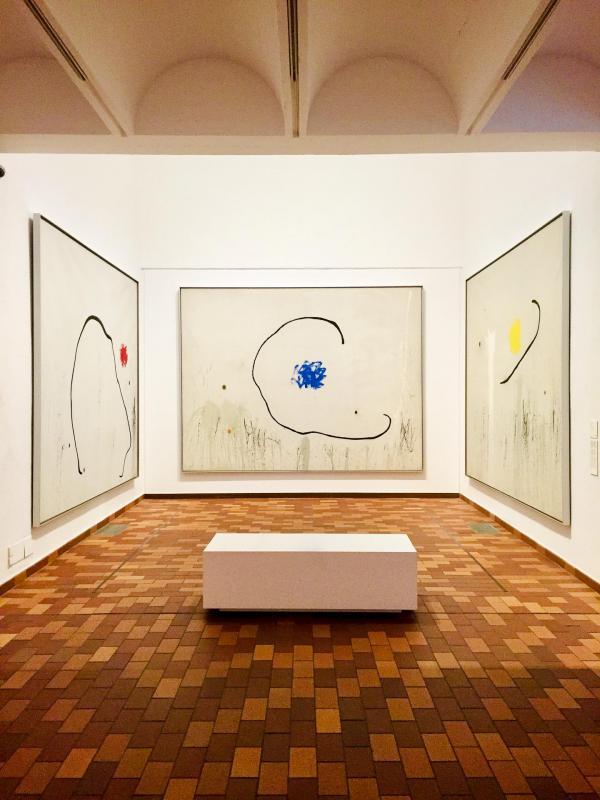Visite privée de la Fondation Miró © Céline Méot