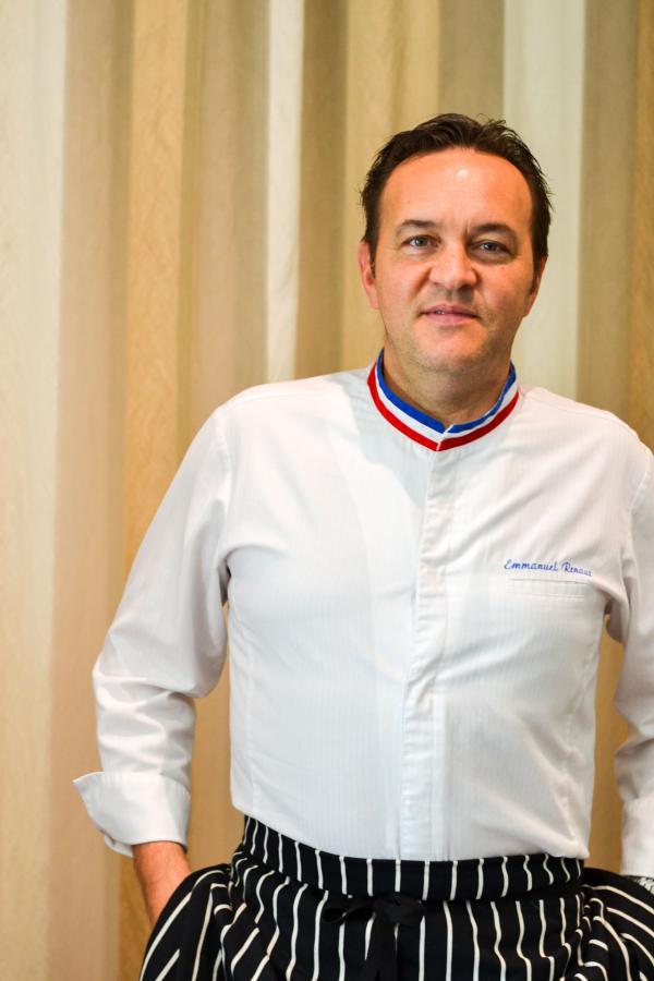 Le chef Emmanuel Renaut au Mandarin Oriental, Geneva © Mélissa Leroux