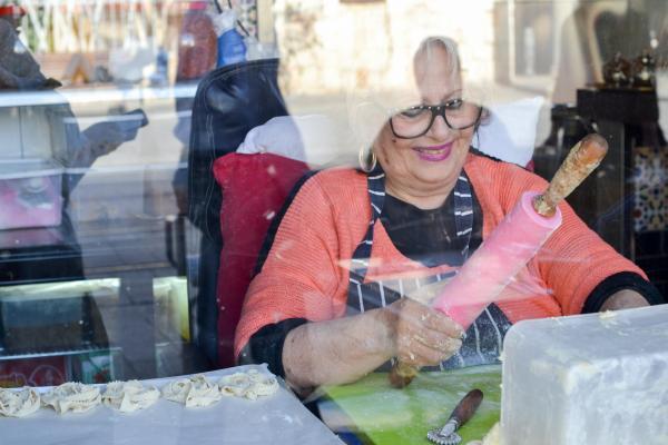 Miriam, la maman d'Avi Levy © Mélissa Leroux