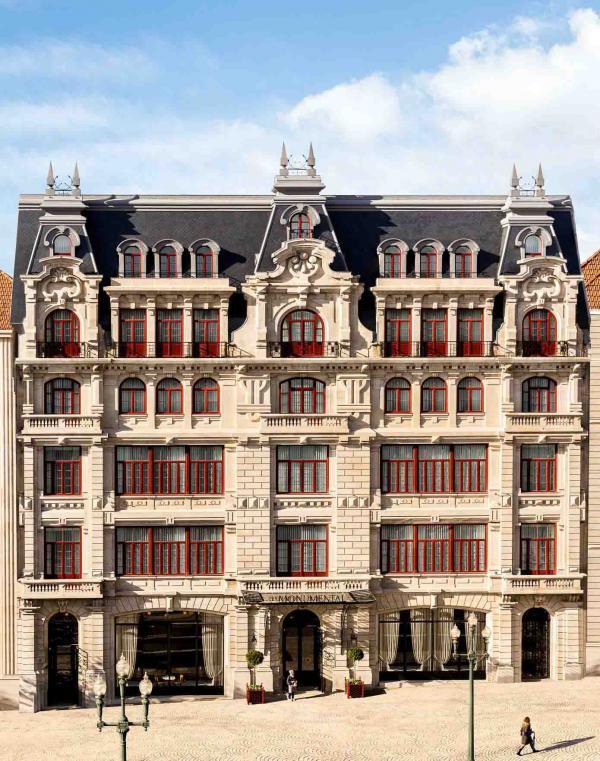 Maison Albar Hotels Le Monumental Palace — façade © Stefan Kraus
