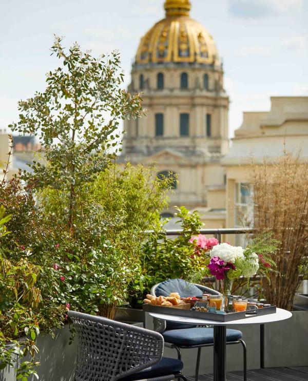 Cinq Codet — terrasse © Antoine Schramm
