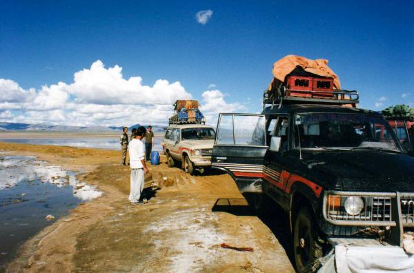 Au bord du lac Poopó © CC Leonora (Ellie) Enking