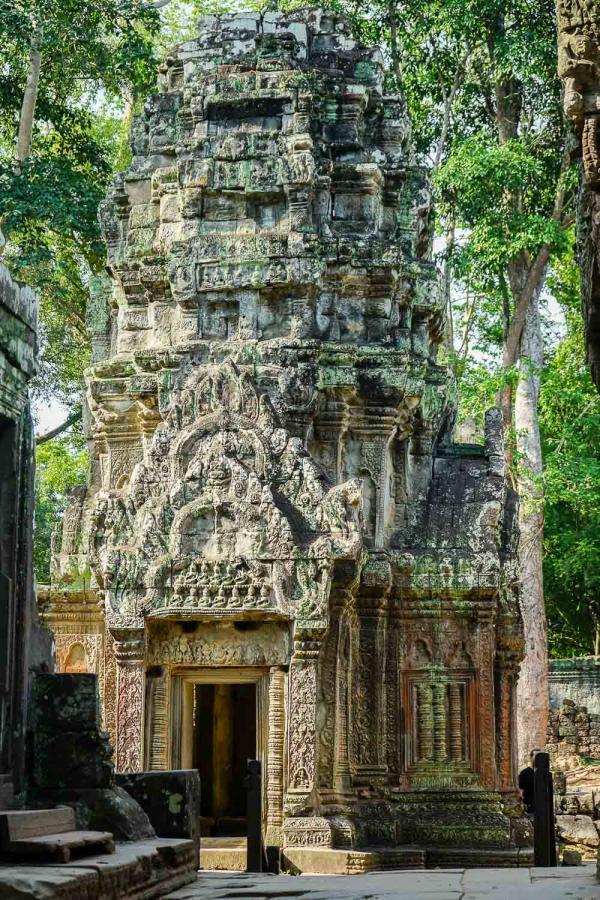 Découverte du temple Ta Phohm dans l'enceinte d'Angkor © YONDER.fr
